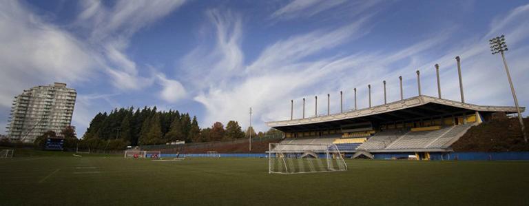 Thunderbird Stadium. Photo Credit: UBC Athletics and Recreation