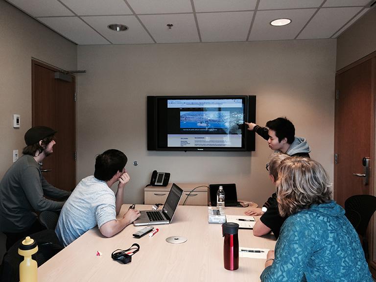 UBC Digital Citizenship program in the Okanagan. Photo Credit: UBC Okanagan